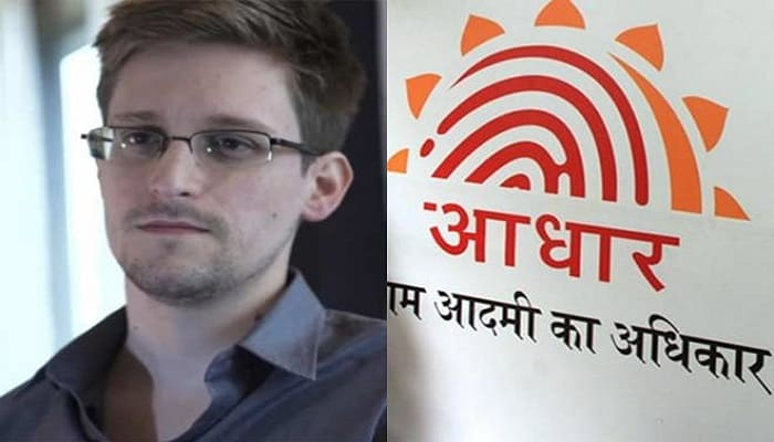 Snowden said , Aadhaar open for abuse By Hacksinfo